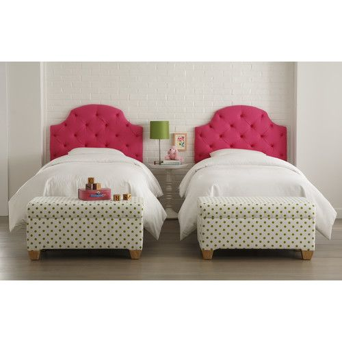 Details about Skyline Furniture Tufted Upholstered Headboard Twin ...