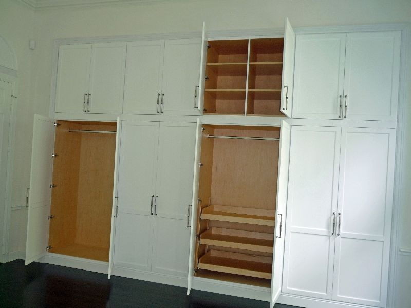 Custom Cabinets For The Bedroom Closets And Storage