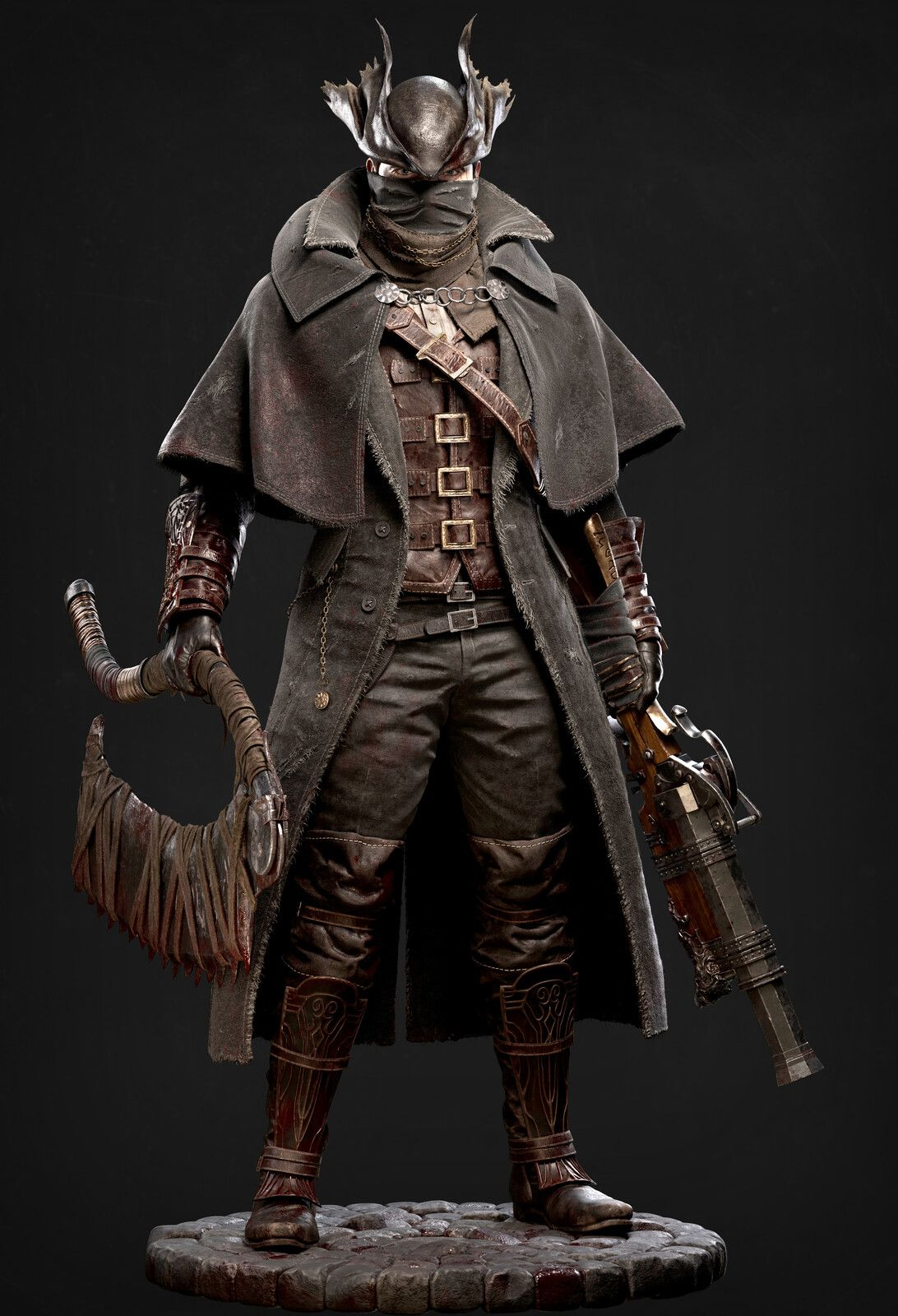 Bloodborne Hunter, Andres Zambrano on ArtStation at https ...