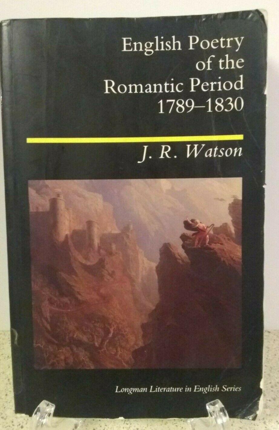 My ebay active romantic period poetry romantic