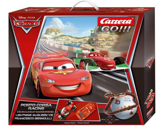 circuit de voiture carrera go cars 2 porto corsa 62238 disney pixar jeux jouets pinterest. Black Bedroom Furniture Sets. Home Design Ideas