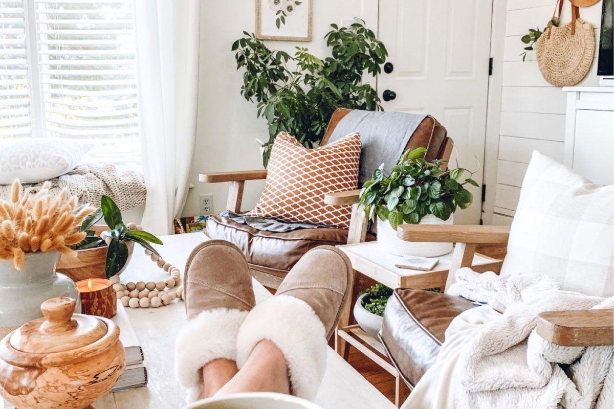 Fall home inspiration and decor #bohodecor #livingroomdecor #homedecor