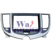 Newest Frame Panel Top Quality Radio Fascia for CHERY A3 2011 Stereo Fascia Dash CD Trim Installation Kit Free Shipping