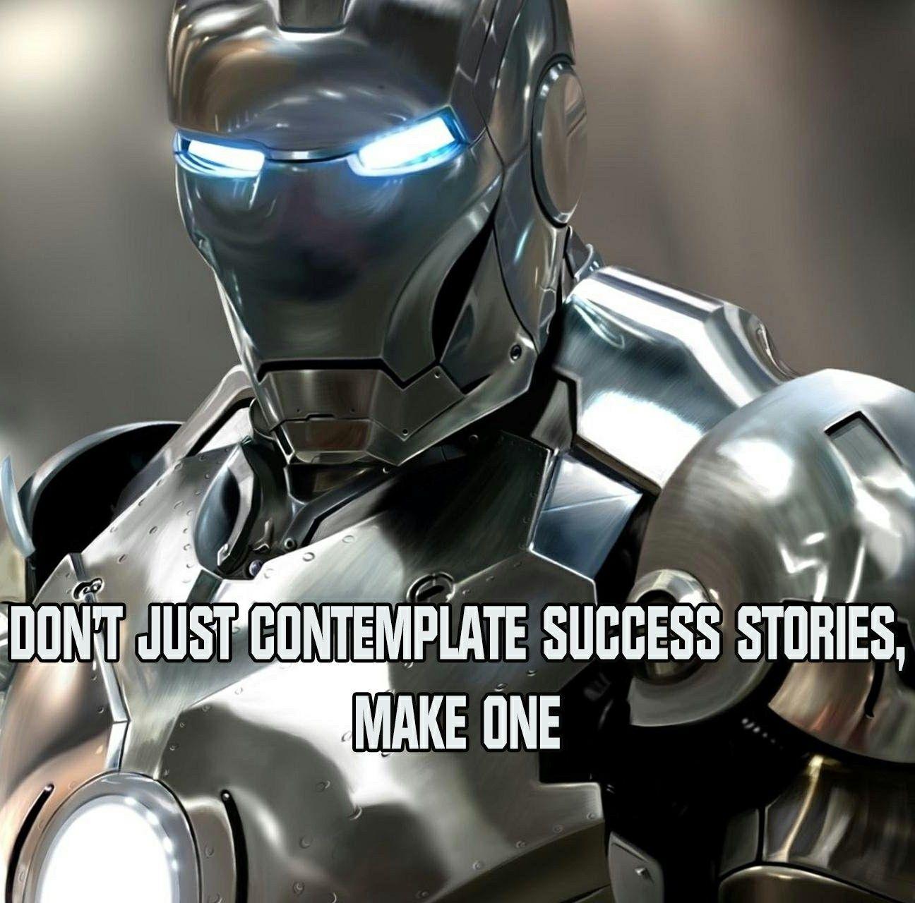 Success Story Success Stories Iron Man Tony Stark