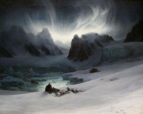 Francois Biard (1798-1882) - Magdalena-Bay