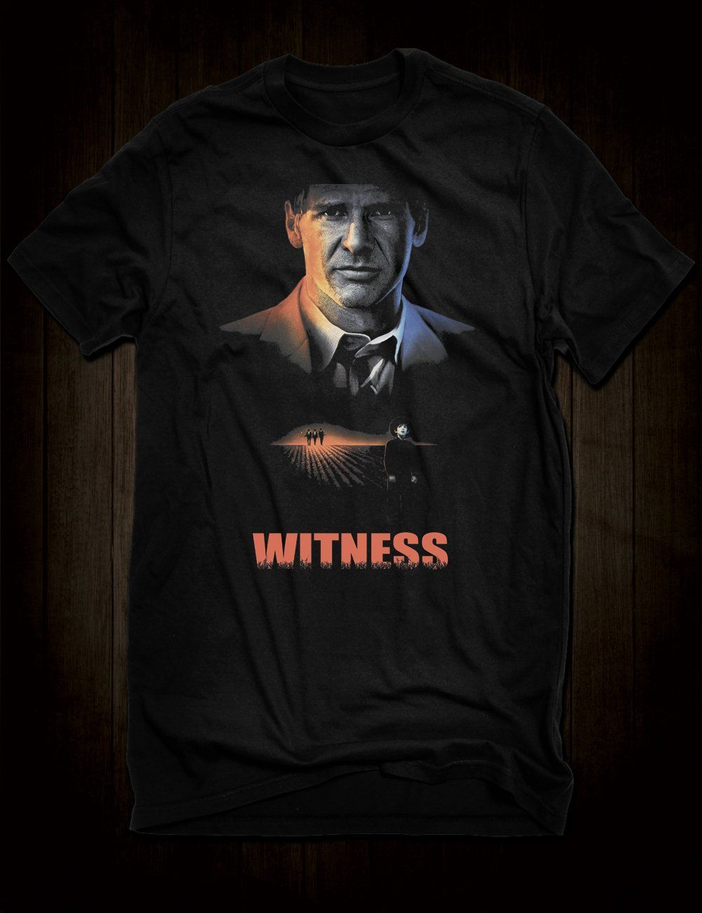 b6336fe518ef3 Harrison Ford Witness T-Shirt - Gents   Small
