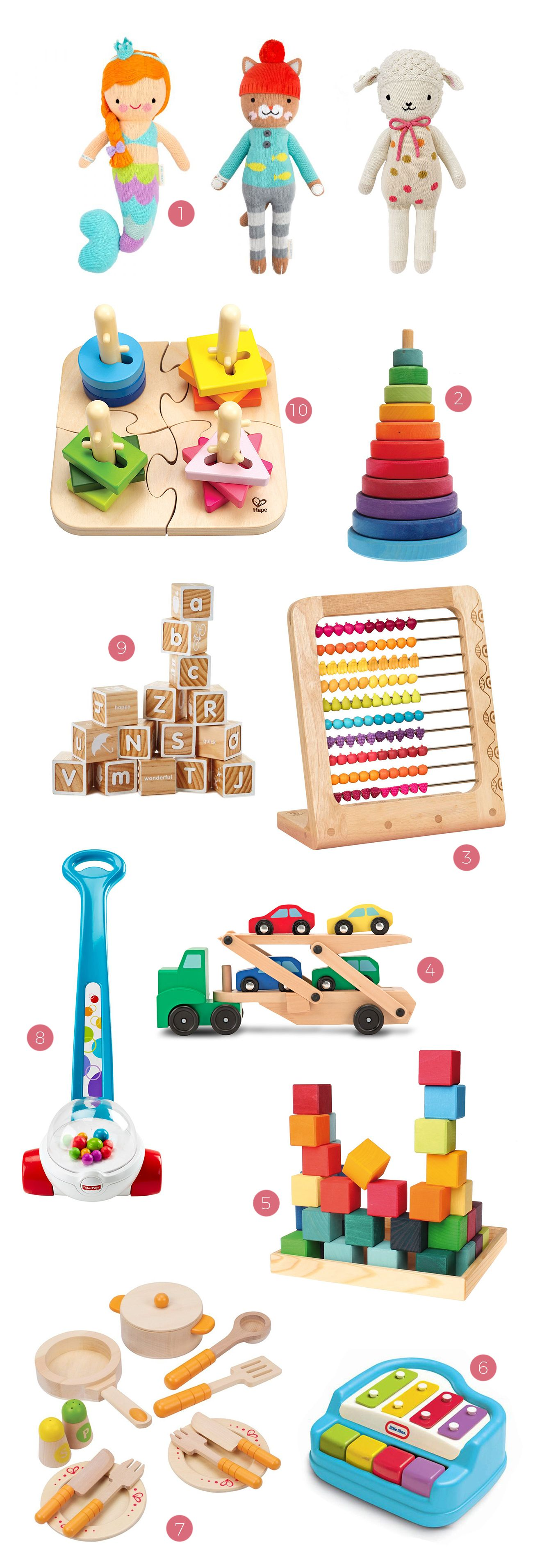 Our Favorite Baby Toddler Toys