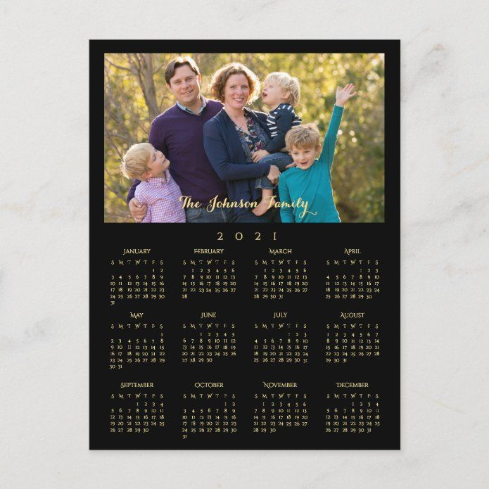 Printed Christmas Cards 2021 With 3 Photos Custom 2021 Photo Calendar Christmas New Years Holiday Postcard Zazzle Com In 2021 Holiday Postcards Custom Holiday Card Holiday Calendar