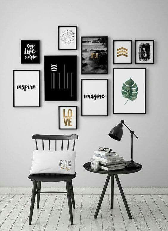 Pin von Saida Zahidova auf Art interiour | Pinterest | Fotowand ...