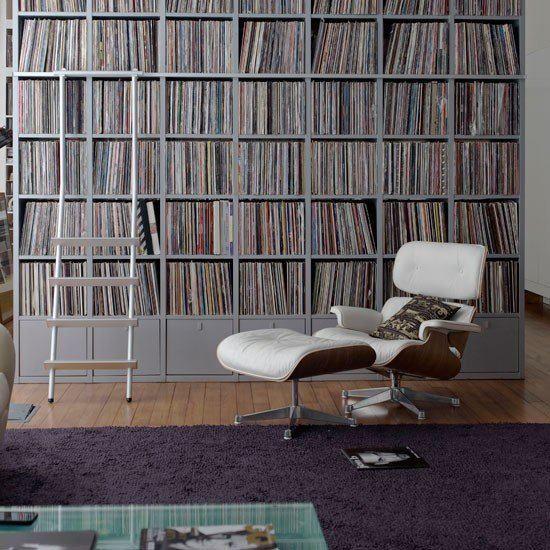 Untere reihe zu wohnzimmer in 2019 pinterest schallplatten regal schallplatten und - Schallplatten wand ...