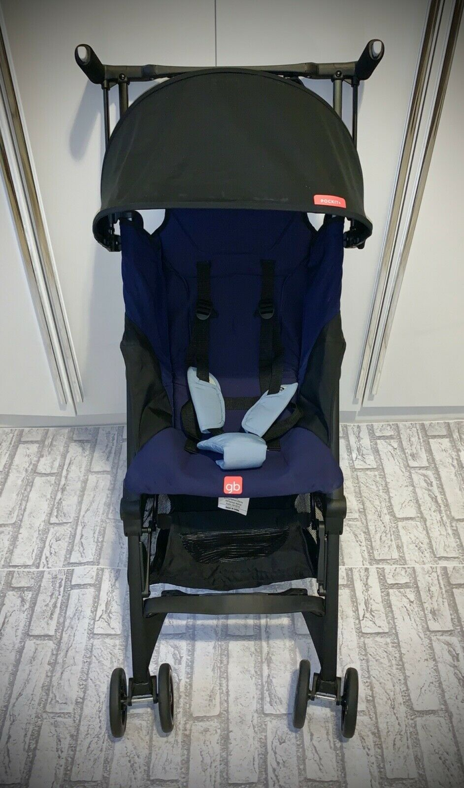 GB Pockit Plus Ultra Compact Lightweight Stroller