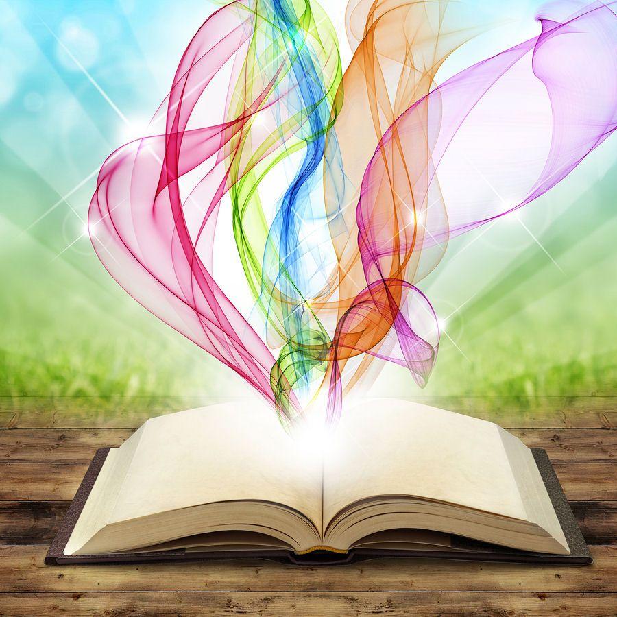 Libro Abierto Colores Creatividad Art Dibujo Libro Abierto