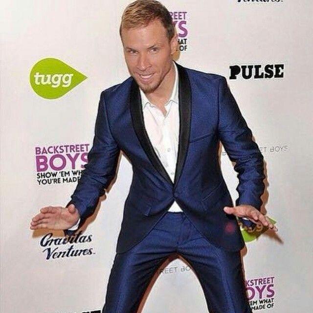 Brian littrell from Backstreet Boys movie premiere