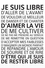 Resultat De Recherche D Images Pour Croire Penser Esperer Citation Citation Je Pense A Toi Je Suis Libre