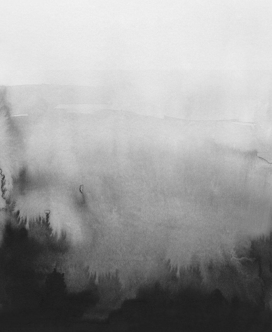 16b03fbc258 Abstracte kunst van zwart-wit, zwart-wit Prints, aquarel abstracte ...