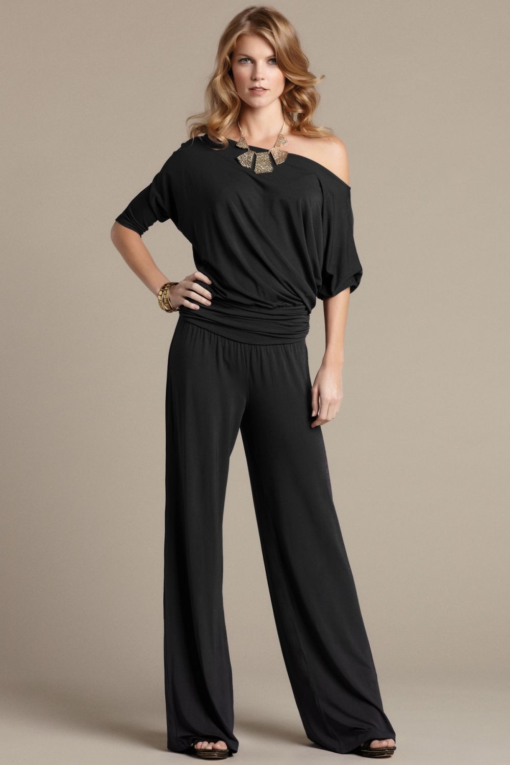 Michelle Jumper - Black - AED840 from Hunni Online www.hunnionline.com/shop/Clothing/Jumpsuits/Michelle-Jumper-Black/