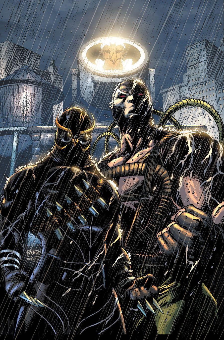 Court of Owls and Bane - Batman | Artwork | Bane batman