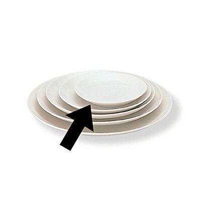 磁器ベージュ皿・小 15cm 1488394 無印良品