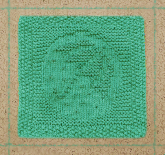Knitted Dishcloth Umbrella 100 Cotton Summer Rain Raindrops