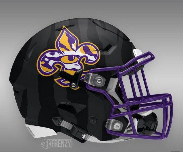 Future Lsu Football Helmet College Football Helmets Football Helmets Football Helmet Design