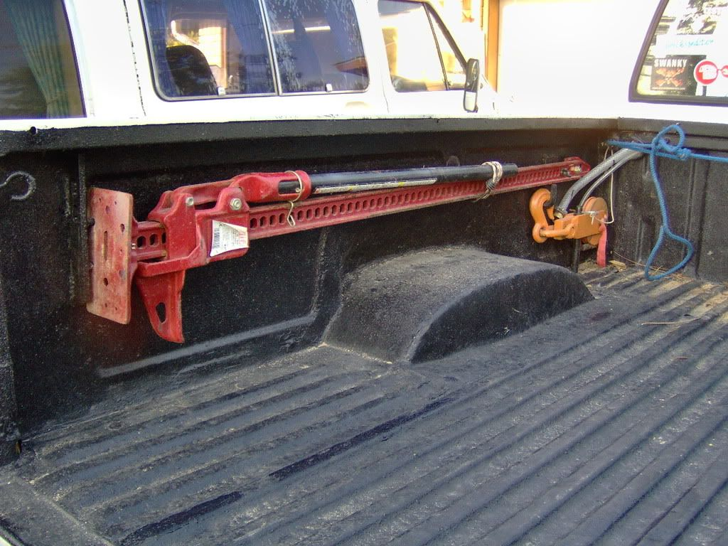 Hi Lift mounted in bed Bug out vehicle, Truck bed, Truck