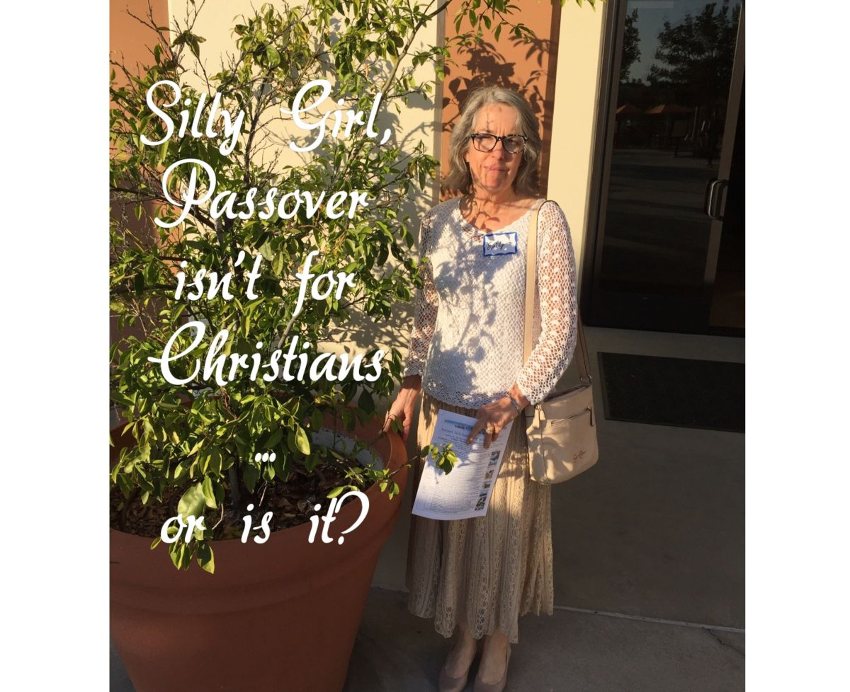 So how does a Christian girl walk into a room of 250 strangers, and enjoy a Passover/Seder meal? I've always wanted to do Passover. But where's a christian girl to go? I don't kno…
