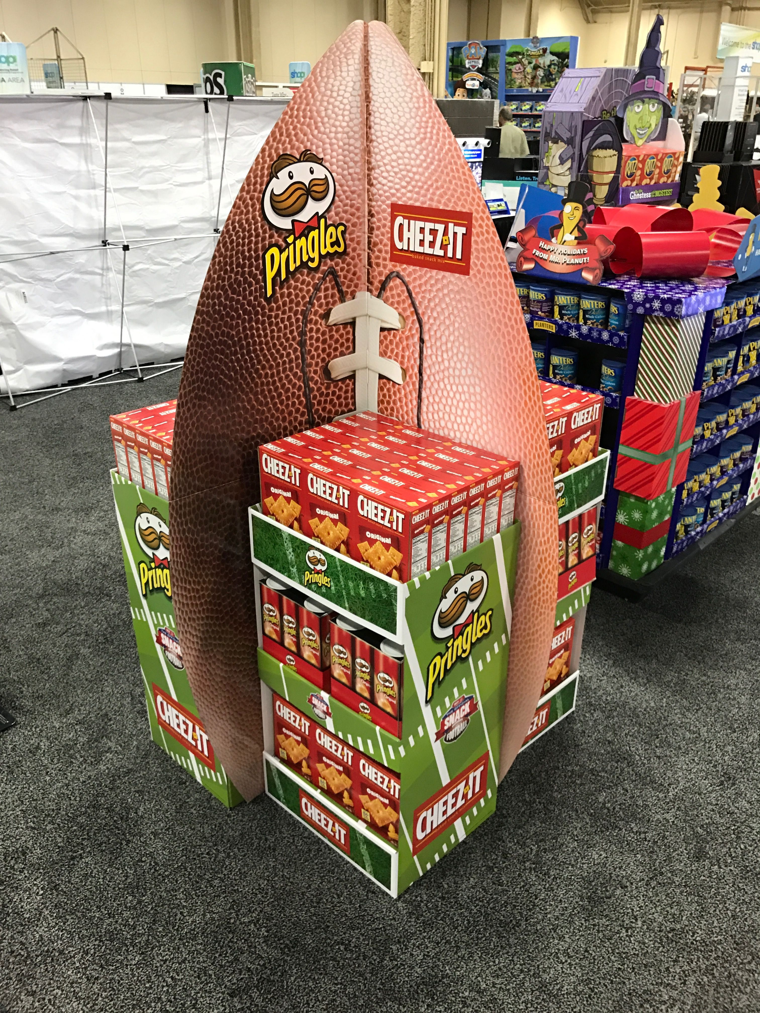 Pringles Cheez It Free Standing Unit Looking to get noticed