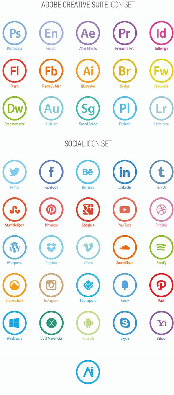 minimal icon set on behance - Icons For Resume