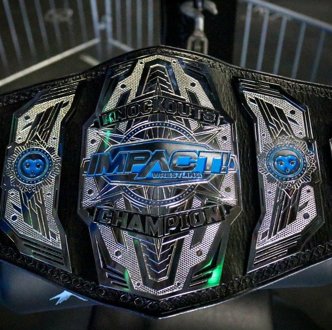 New Impact Wrestling Knockouts Championship | Wrestling ...