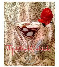 Cuddle up in front of the fireplace and treat yourself to this romantic, dessert cocktail!  Chocolate Covered Strawberry 1 oz Tequila Rose 1/2 oz 360 Double Chocolate Vodka 2 oz Half and Half  Combine in Cocktail shaker with ice  Prepare by drizzling chocolate syrup inside glass. Garnish with chocolate shavings and a strawberry rose