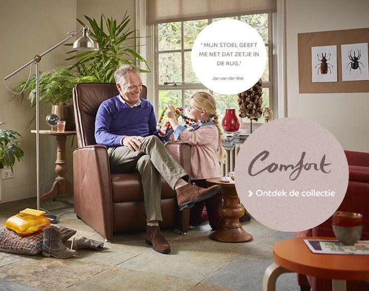 Leren Relaxstoel Van Prominent.Comfort Relaxstoelen Prominent Relaxstoelen Mooi En Bank
