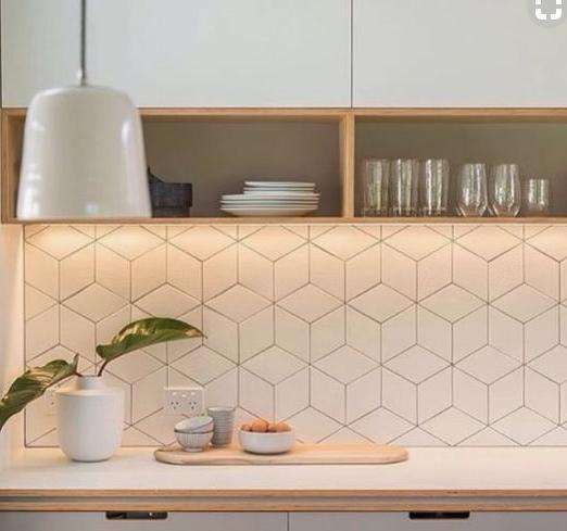 Choosing Tiles For A Scandinavian Style Kitchen In 2020 Kitchen Splashback Tiles Scandinavian Kitchen Design Kitchen Splashback