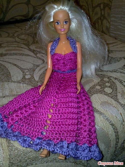 Платье для Барби 3 - Вязание - Страна Мам