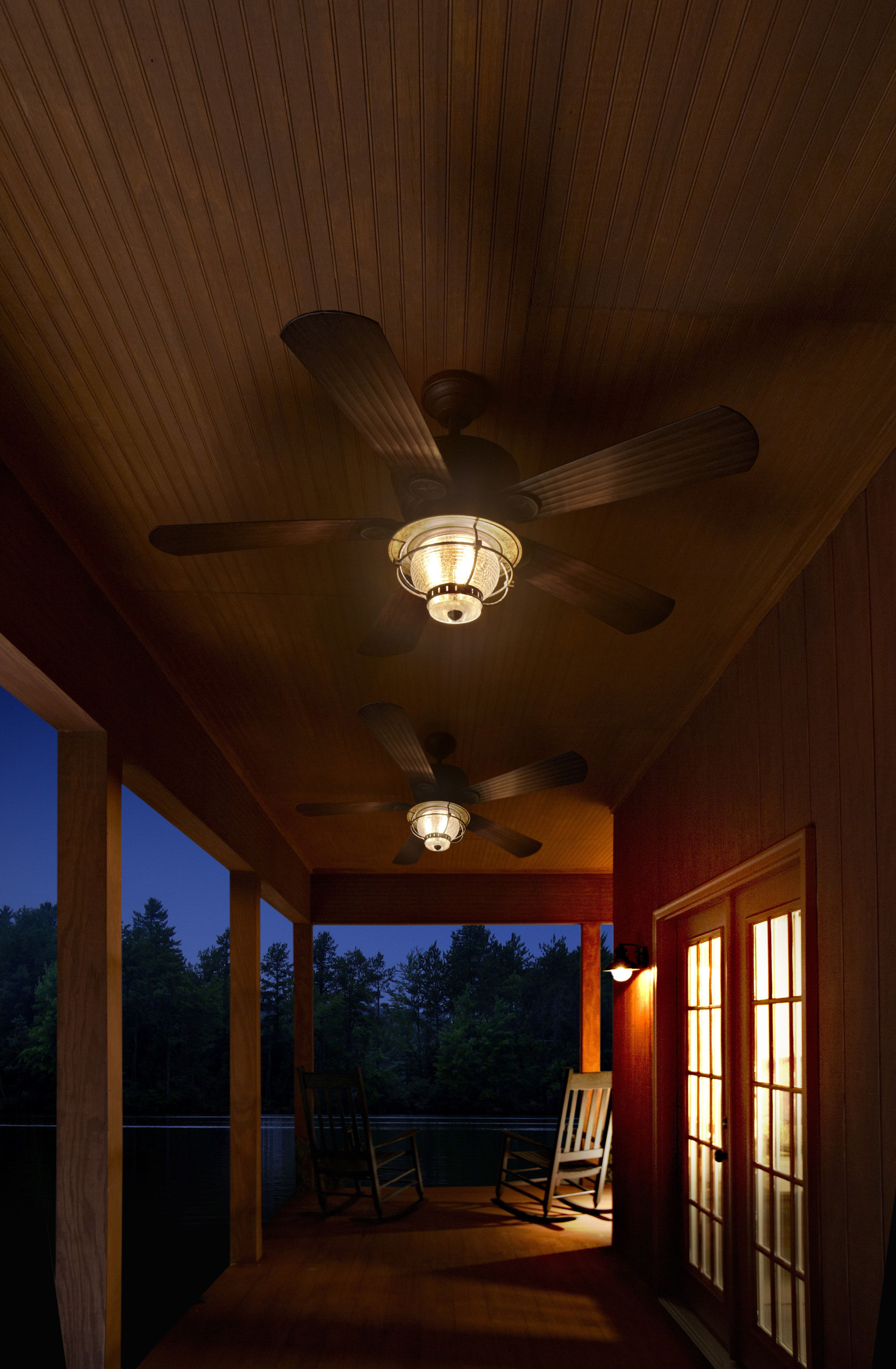 Be Prepared For The Summer Heat With Harbor Breeze Outdoor Ceiling