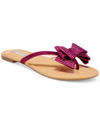 Mabae Bow Flat Sandals
