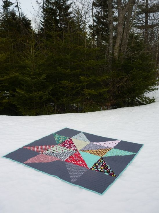 Giant Star Part II by Adrienne Klenck   Project   Sewing   Quilting / Quilts   Kollabora