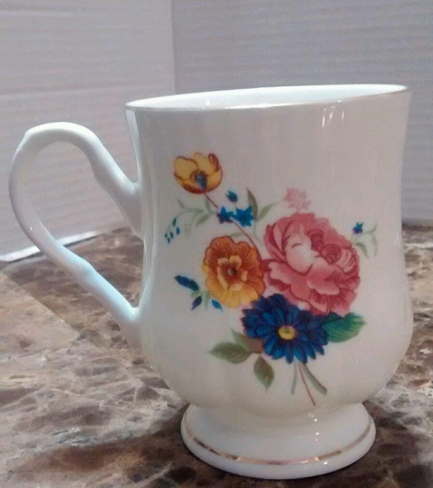 Fine Bone China By Crown Ceramics Ltd Made In India Porcelain Collectible China Antique Ceramics Porcelain