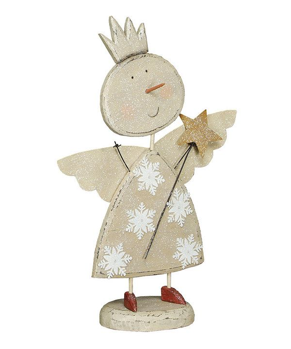 Take a look at this Snow Princess Figurine on zulily today!