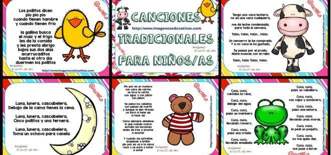 Canciones tradicionales y populares PORTADA