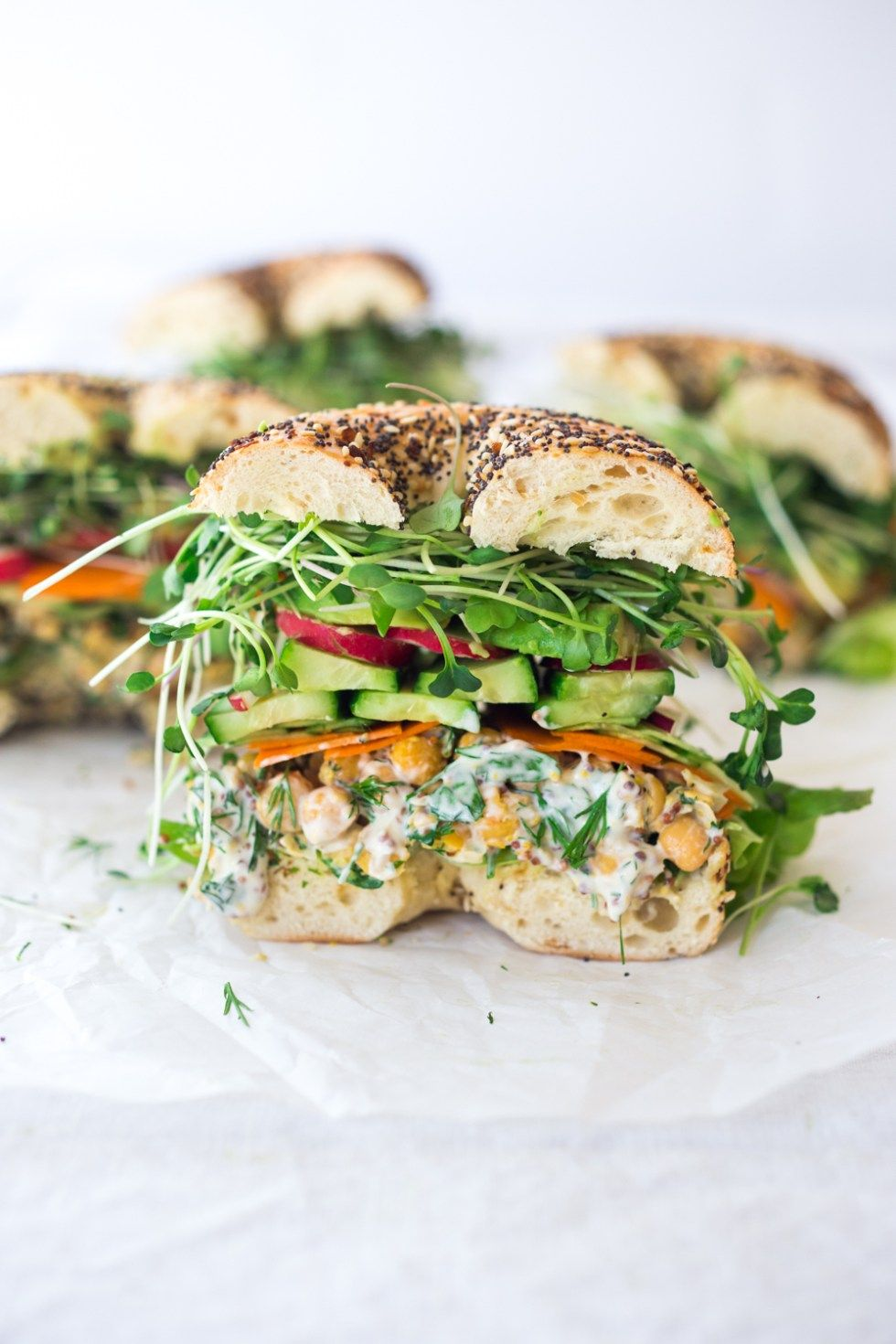 Spring Goddess Sandwich | Feasting At Home