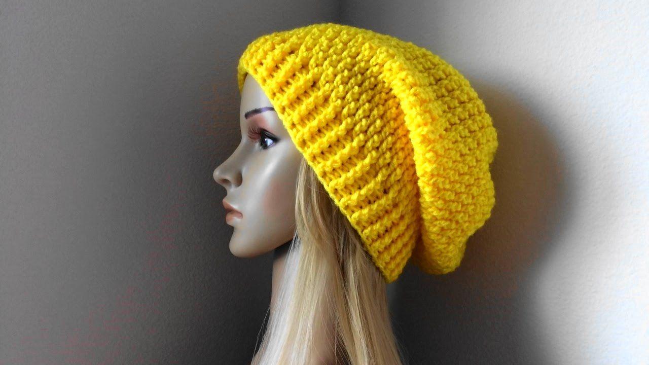How To Crochet A Hat, Lilu\'s Handmade Corner Video # 100 | skoufakia ...