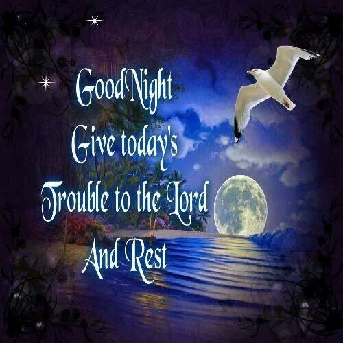 Night Time Prayer Quotes: Night Time Blessings