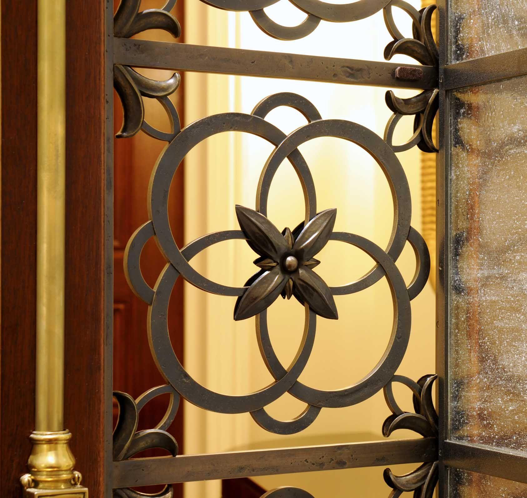 John b murray architect flower grille detail details pinterest