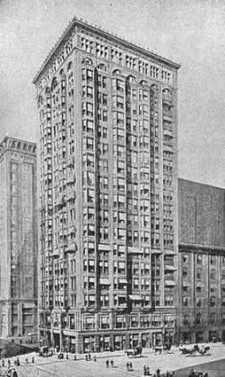 The Fisher Building is 20-story, 275-foot-tall (84 m) neo