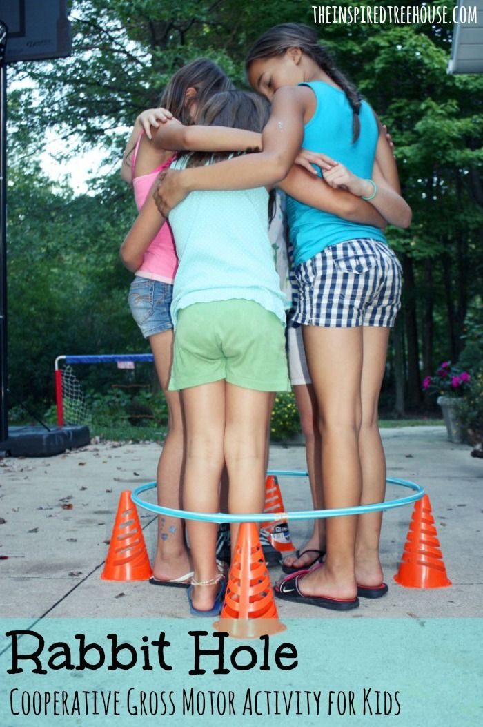 GROUP GAMES FOR KIDS: RABBIT HOLE Fun Activities, Teen Team Building  Activities, Group