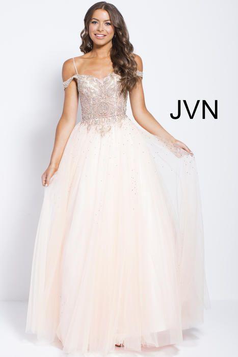 Jovani, JVN58403, Sz 0, Blush/Gold, $358 NOW $249! Available at ...