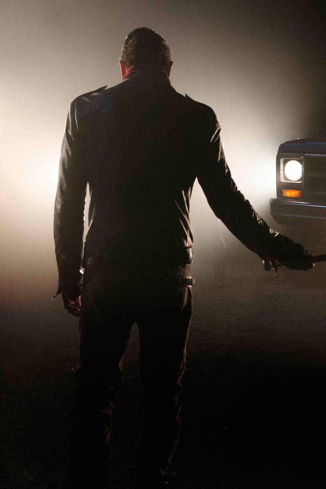 640x960 The Walking Dead Season 7 Negan Iphone 4 Iphone 4s Hd 4k Wallpapers Images Backgrounds Walking Dead Season Walking Dead Wallpaper The Walking Dead