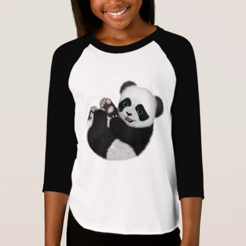 Baby Panda Bear T-Shirt  					 			  		 			 $28.10  			 by  ratherkoolshop #babypandas