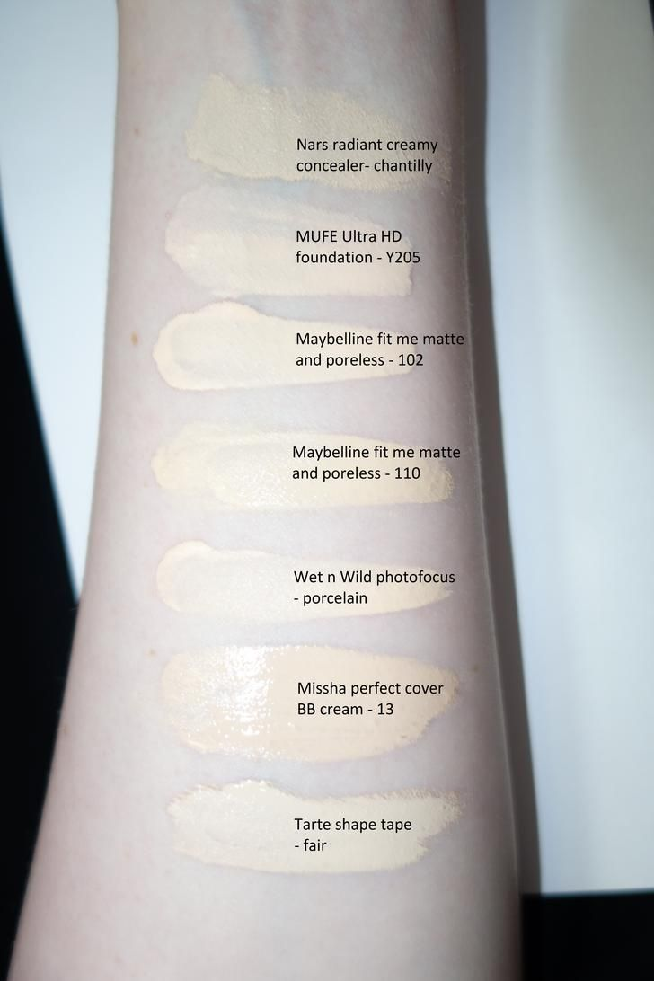 Maybelline fit me 102 comparisons in 2019 | The Pale Girl ...