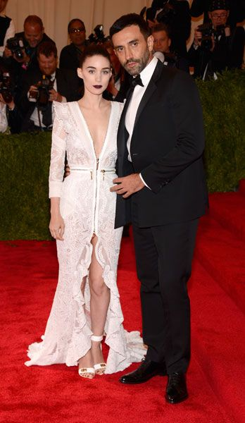 The Met Ball 2013: Riccardo Tisci and Rooney Mara in Givenchy at Met Gala